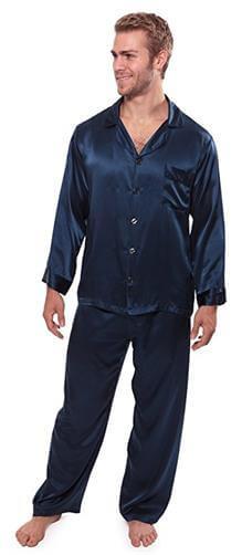 TexereSilk Men Classic Silk Pajama Set