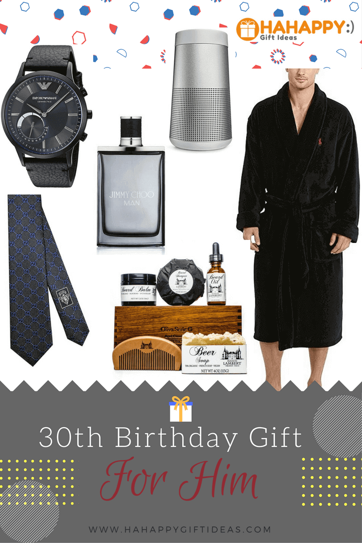 16 best 30th birthday gifts for him