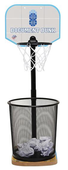 The Trashcan Basketball Hoop For Office All-Stars