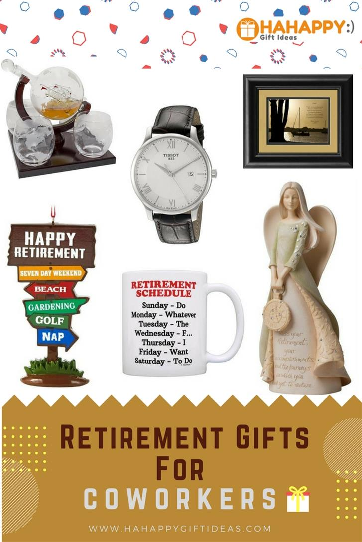 17 retirement gifts for coworkers -thoughtful & fun | hahappy gift ideas