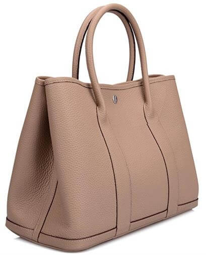 Ainifeel Genuine Leather Tote Bag