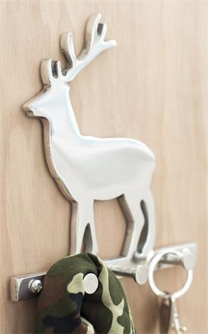Decorative Deer Wall Mount Key Holder
