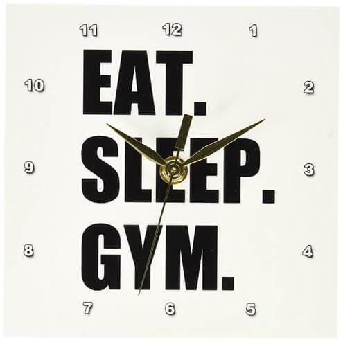 Fitness Enthusiast Desk Clock