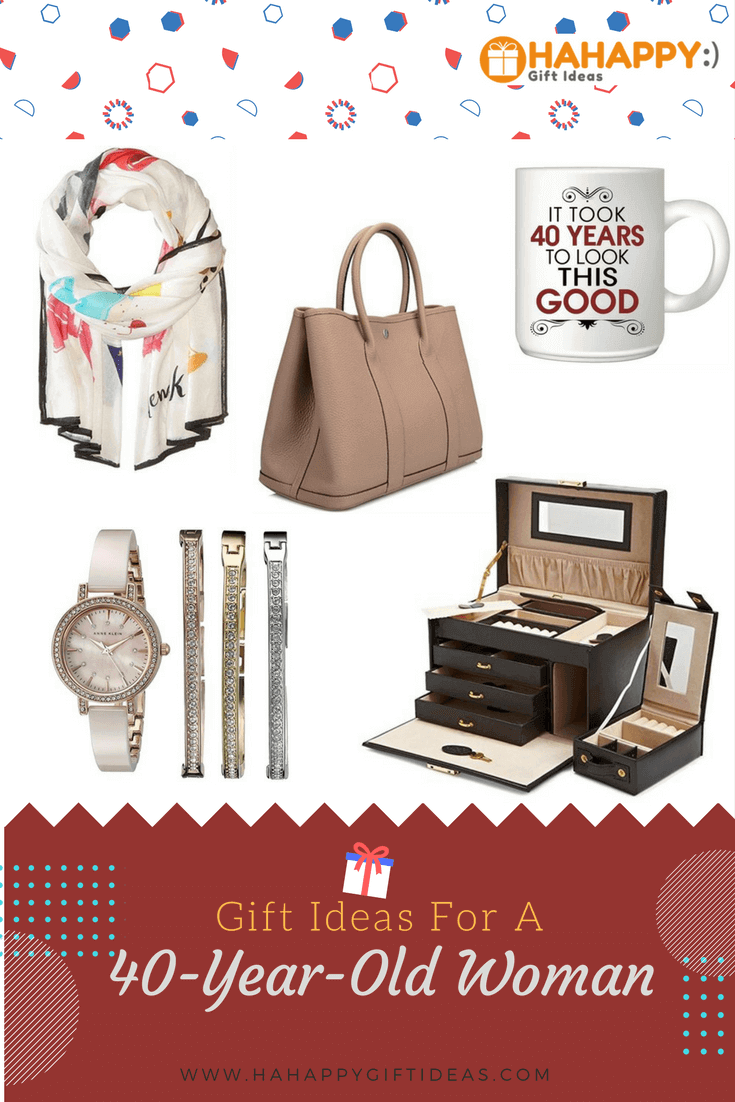 17 Gift Ideas For A 40 Year Old Woman