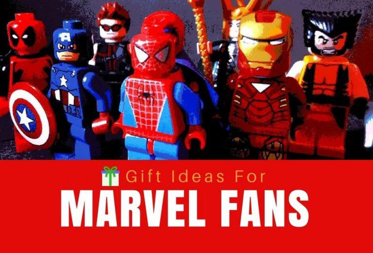 28 Super Cool Gifts For Marvel Fans