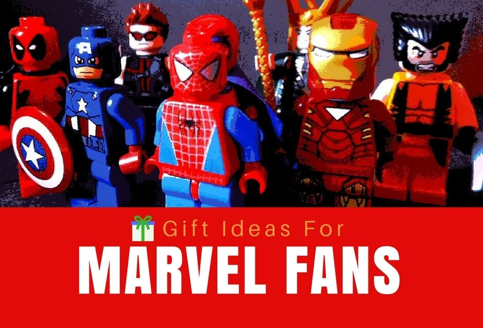 28 Super Cool Gifts For Marvel Fans