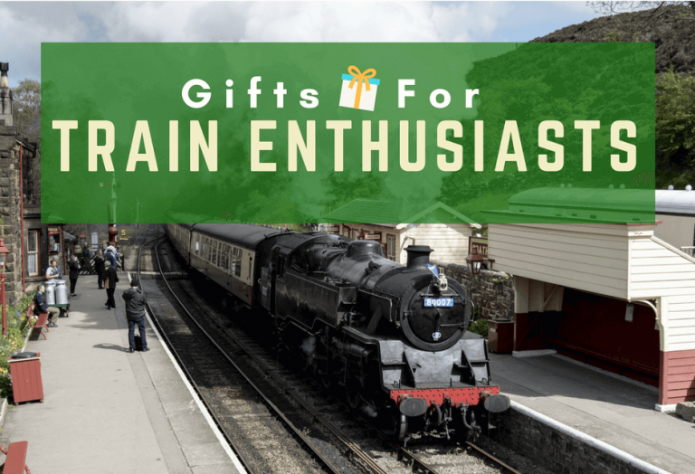Gifts For Train Enthusiasts and Lovers – 18 Train Gifts for Adults