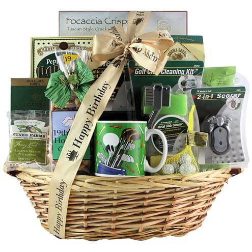 Golfers Delight Gift Basket