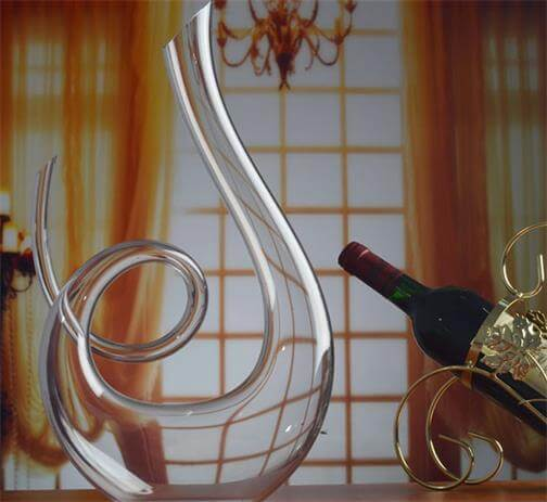 HanzeekTM Music notation shape Wine Decanter