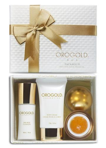 OROGOLD Cosmetics 24K Gold Luxury Package 2 Skin Care Set