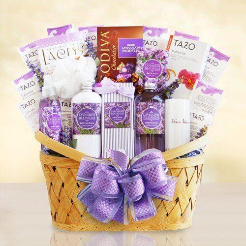 The Ultimate Lavender Spa Gift Basket