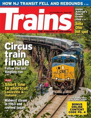 Trains magzine