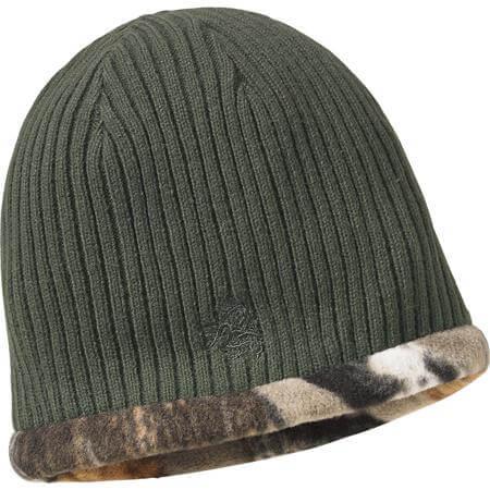 Trophy Buck Reversible Knit Camo Hat