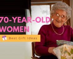 20 Birthday Gifts For A 70 Year Old Woman