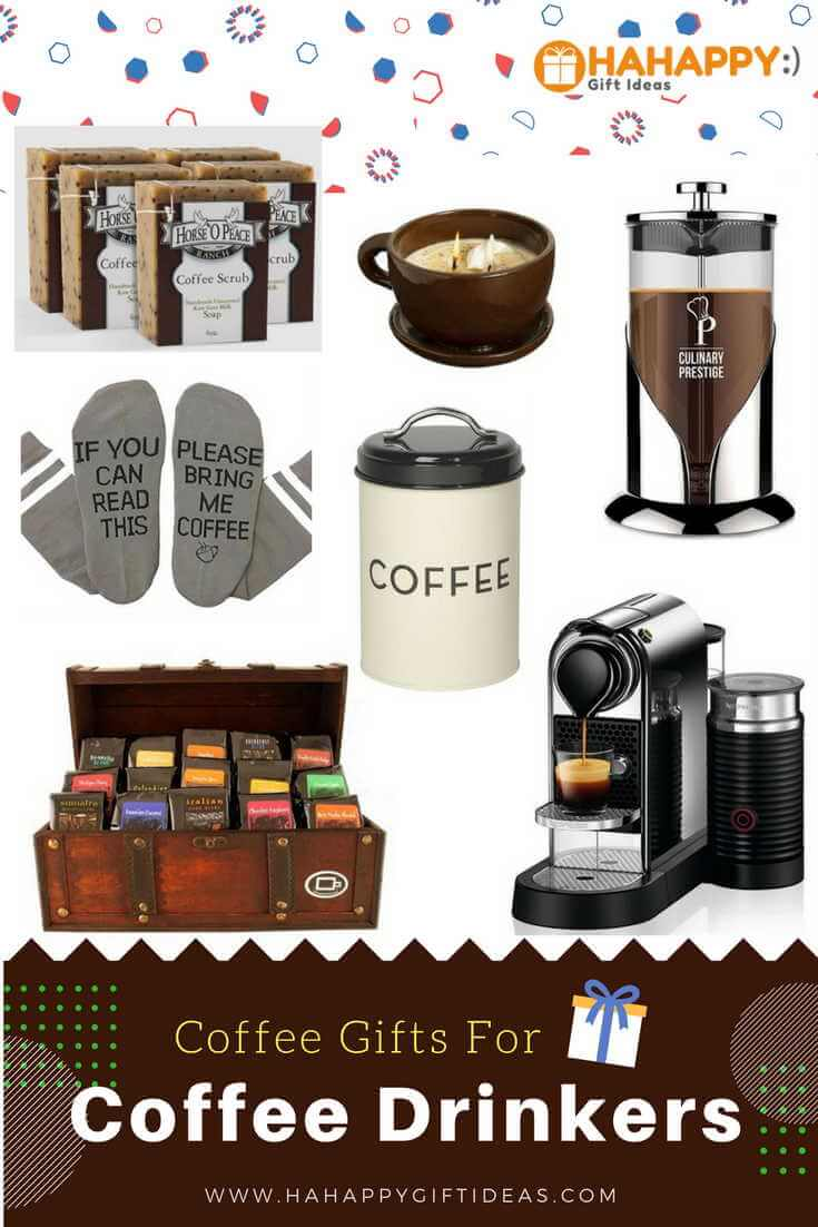 Best Coffee Gifts For Coffee Drinkers