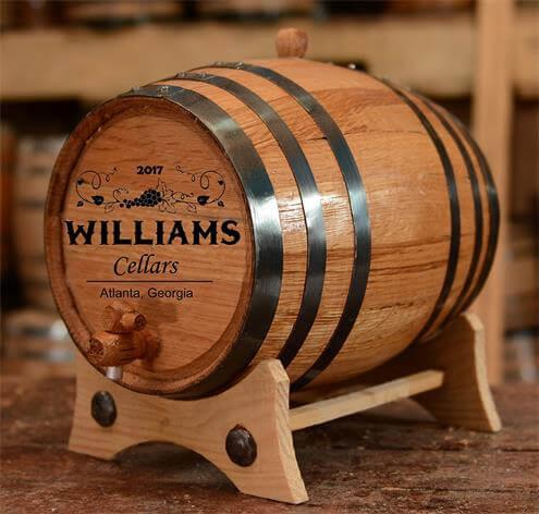 Custom Wine Oak Aging Barrel