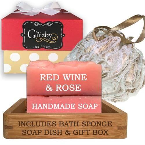 Luxury Handmade Soap Bath Gift Set