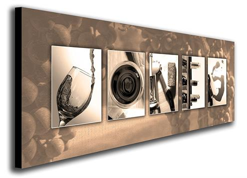 Personalized Wine Name Art