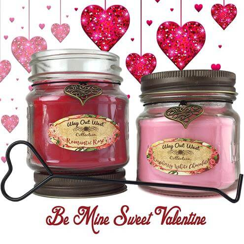 Romantic Gift Scented Candles 2 Pack