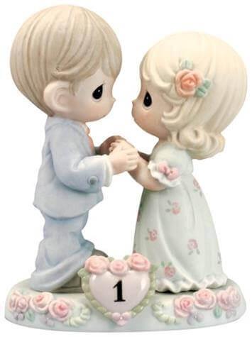 Precious Moments Bisque Porcelain Figurine