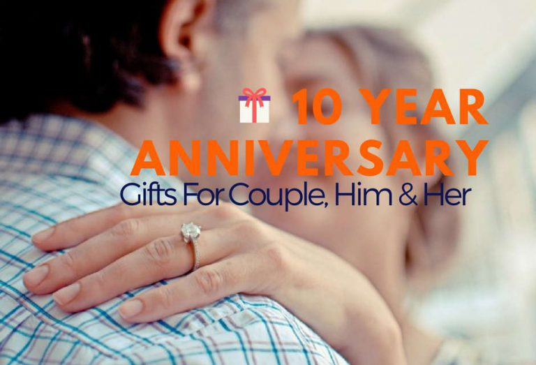 10 Year Anniversary Gifts For Couple, Him & Her