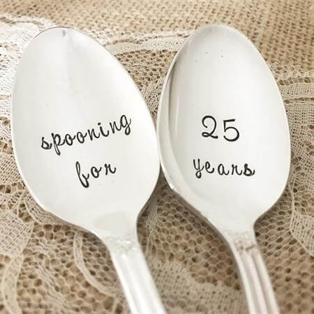 25 long iced tea spoon set