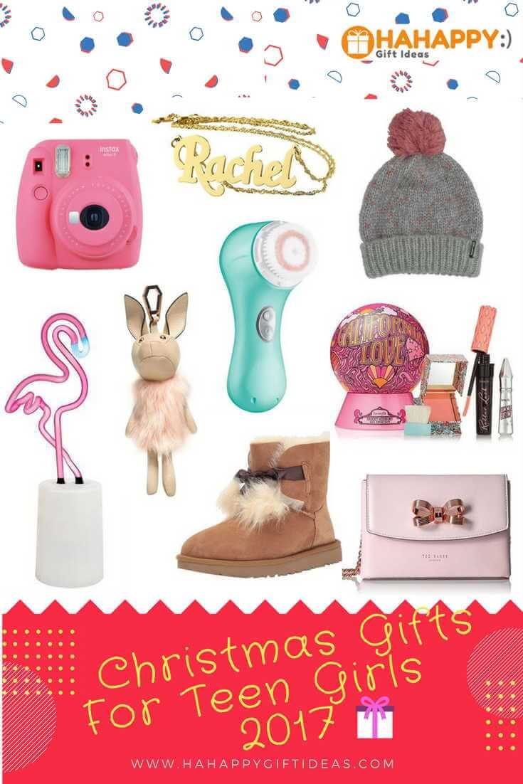 26 Best Christmas Gift Ideas For Teen Girls 2017 - Cute & Fun | HAHAPPY