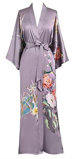 Old Shanghai Women Kimono Robe Long