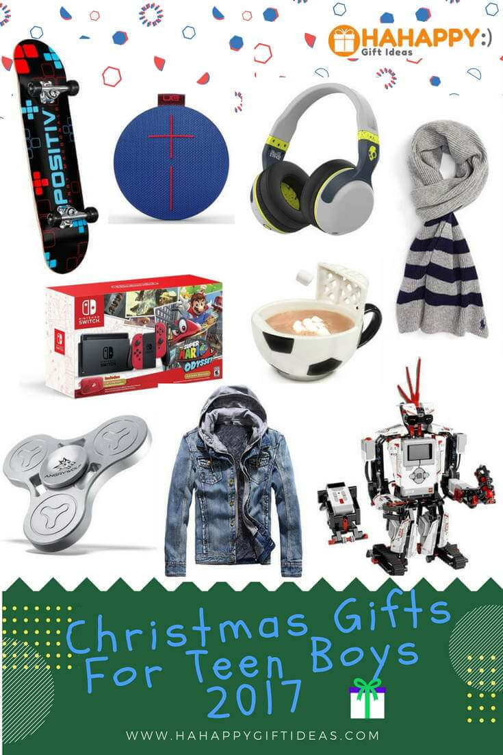 Christmas Gift Ideas for Teenage Boys 2017