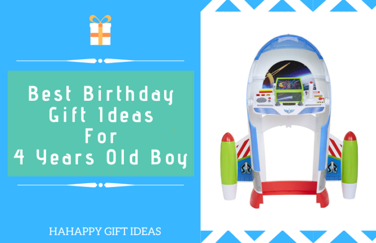Best Birthday Gift Ideas For 4 Years Old Boy