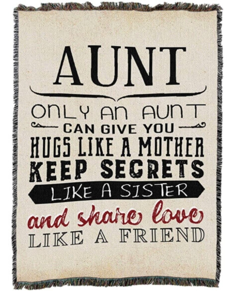 Gifts for Aunts