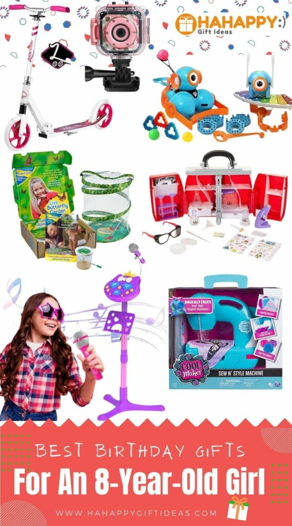 Best Gifts For An 8-Year-Old Girl
