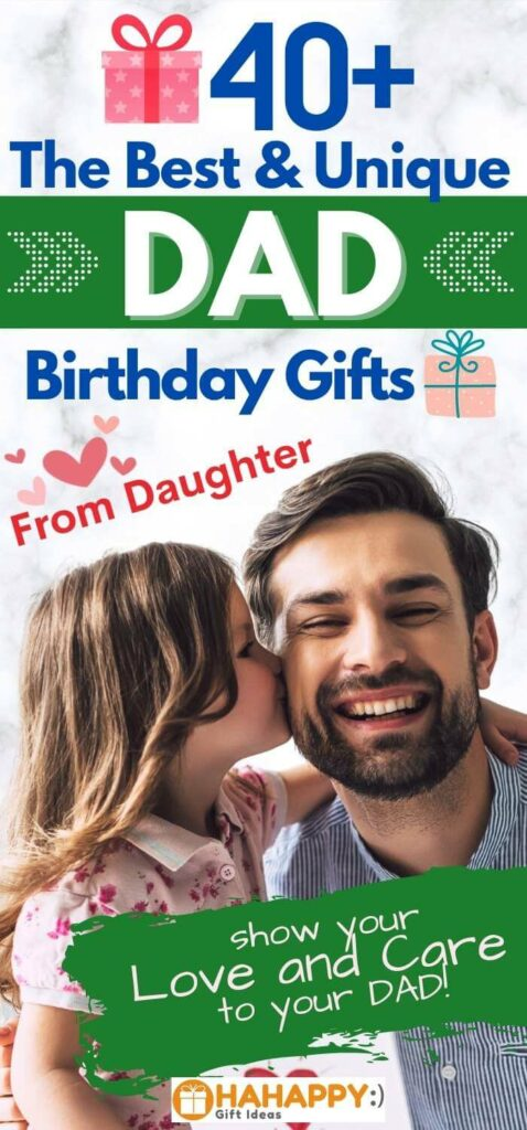 Dad Birthday Gifts From Daughter pin 1