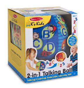 Best Gifts For 1 Year Old Boys Talking ball 287x300 1