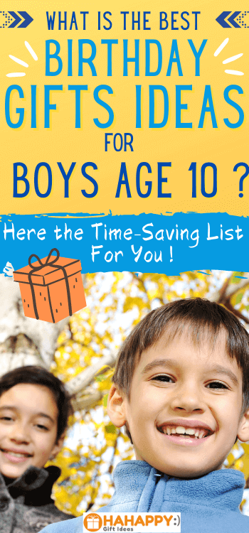 Best Gifts For 10-Year-Old Boys