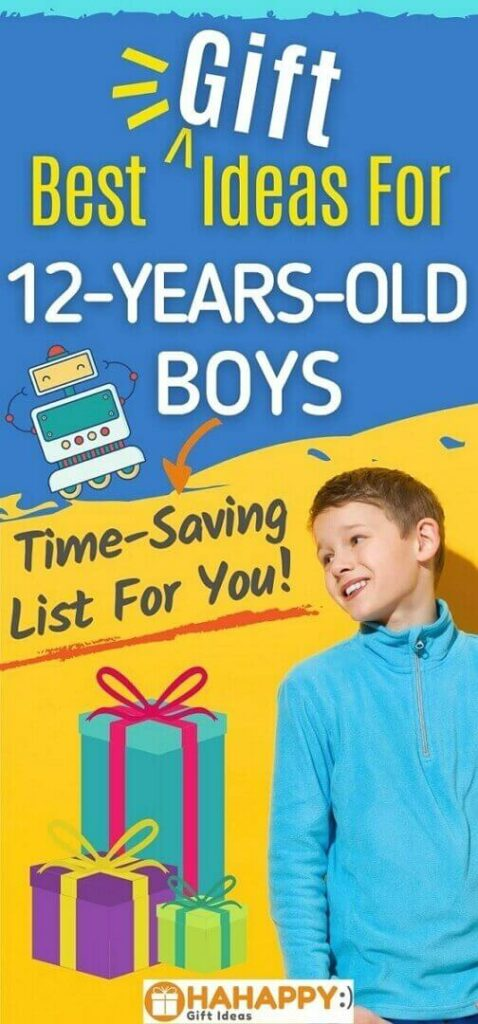 Gifts For A 12-Year-Old Boy