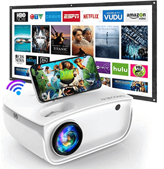 WiFi Projector Techie Gifts For 14 Year Old Boys 1 1